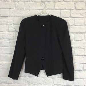 Christian Dior the suit black jacket sz 8